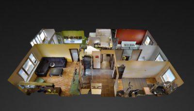 4-izbový byt v Devínskej Novej Vsi 3D Model