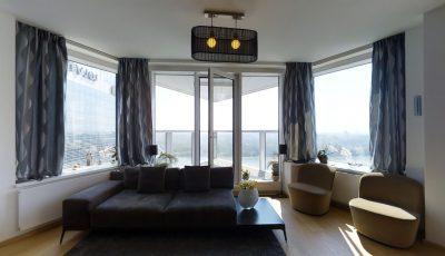 4i byt v Panorama City s výhľadom, ktorý Vás dostane! 3D Model