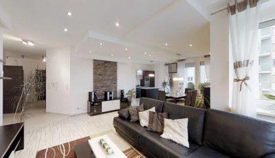 Na predaj 5 izbový byt vo vyhľadávanej lokalite Bratislavy 3D Model