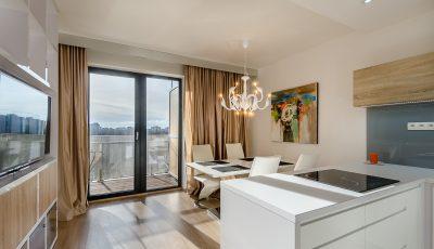 Exkluzívny jeden a pol izbový byt v Petržalka City 3D Model