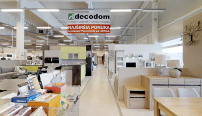 Dom nábytku DECODOM | Liptovský Mikuláš 3D Model