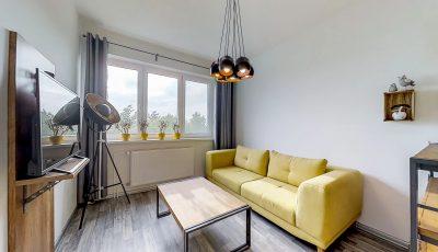 Predaj dvojizbového moderného bytu na Antolskej ulici v Bratislave 3D Model