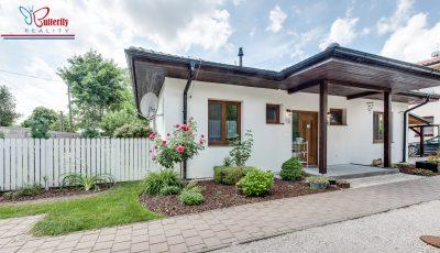 Na predaj 4 izbový bungalov v Zálesí, neďaleko Bratislavy