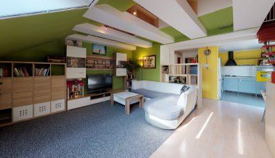 Dvojizbový priestranný byt v centre mesta Stupava 3D Model