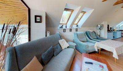 Rodinný dom s 1,7 ha pozemkom a výhľadmi v Novej Bani 3D Model