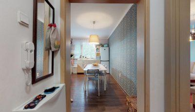 Spojený jeden a trojizbový byt v Trnave 3D Model
