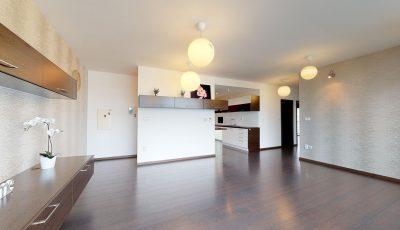 Priestranný trojizbový byt na predaj v Ružinove 3D Model
