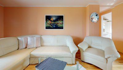 Trojizbový byt na Šafárikovej ulici v Prešove 3D Model