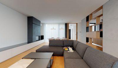 Realizácia interiéru rodinného domu v Bratislave 3D Model