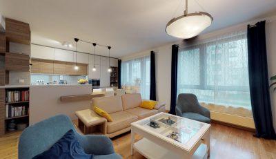 Zariadenie 3-izbového bytu | BA – Staré mesto 3D Model