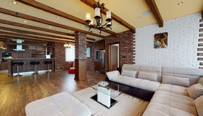 Ponúkame na predaj veľkometrážny byt priamo pri Bratislavskom hrade 3D Model