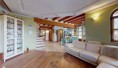 4-izbový rozprávkový rodinný dom s jazerom 3D Model