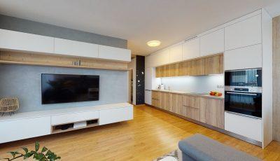 Štvorizbový byt v novostavbe Mendelshon 3D Model