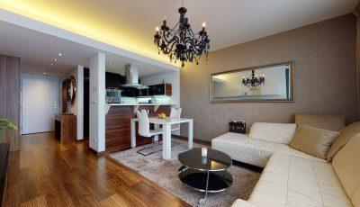 Trojizbový byt v novostavbe CityPark  Bratislava – Ružinov 3D Model