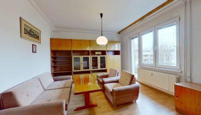 Na predaj veľký 1-izbový byt v Ružinove s balkónom 3D Model