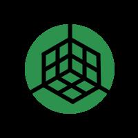 Ikona 3D prehliadka zelená